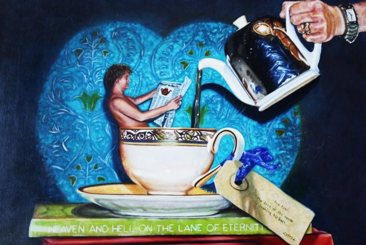 Tea time, theepot, thee kopje, afspraak